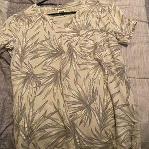 Flowered Victoria's Secret tee shirt